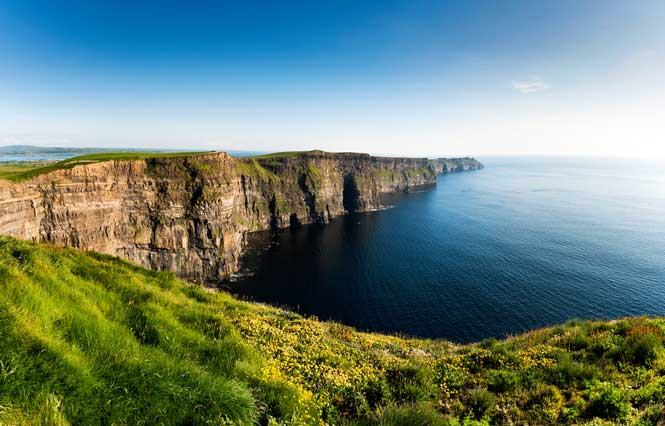 Cliffs of Moher and The Burren